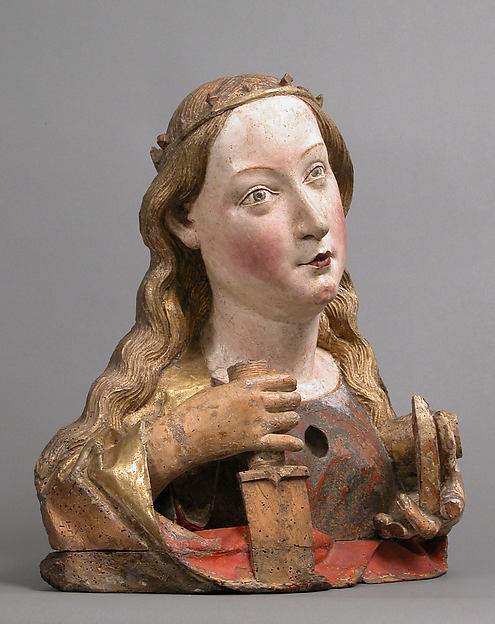 Reliquary Bust of Saint Catherine of Alexandria