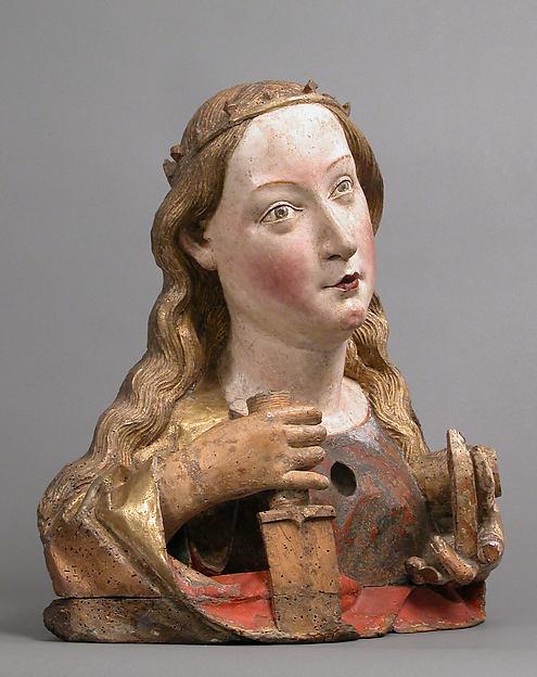Reliquary Bust of Saint Catherine of Alexandria
