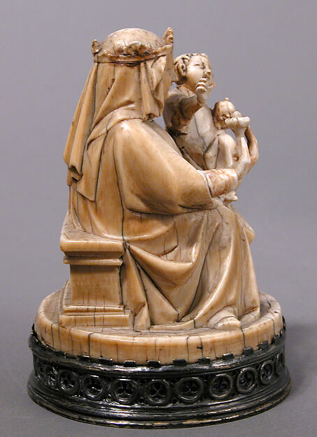 Virgin and Child with an Apple and a Rose