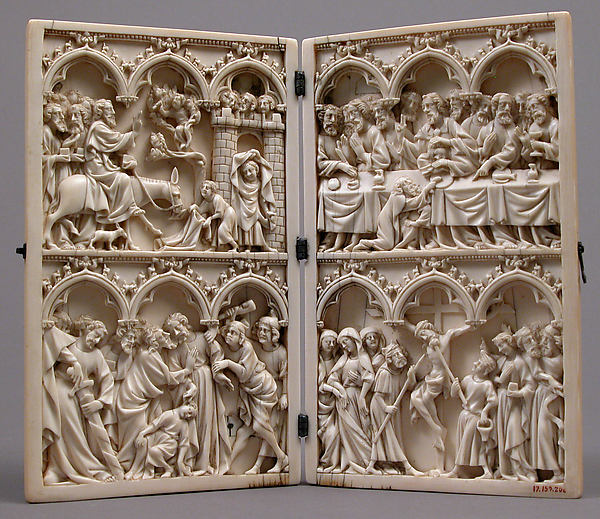 Diptych with Scenes from Christ's Passion