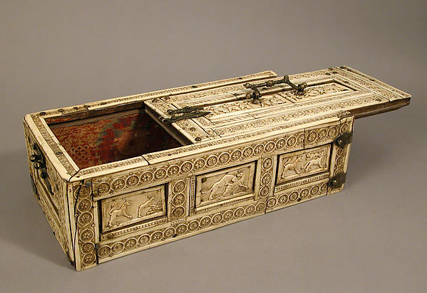 Casket with Erotes and Animals