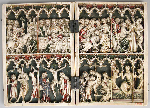Diptych with Scenes from the Passion