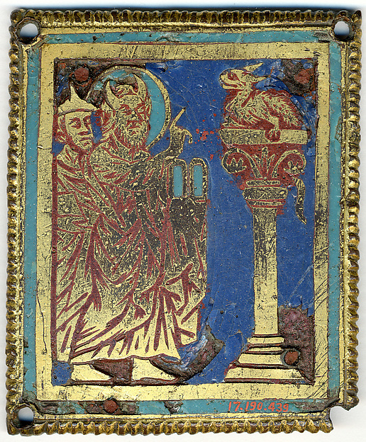 Plaque with Moses, Aaron, and the Brazen Serpent