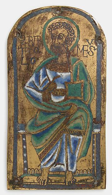 Plaque of St. Bartholomew