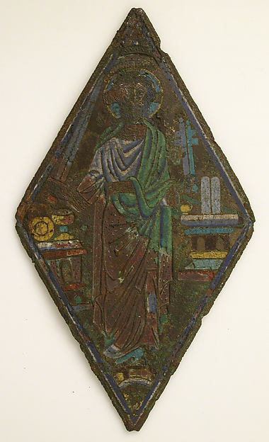 Plaque with Christ as Mediator