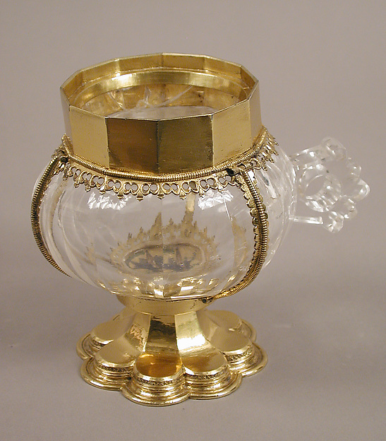 Cup with Gilded-Silver Mounts