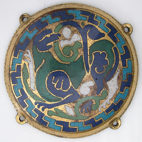 Quadruped (one of five medallions from a coffret)