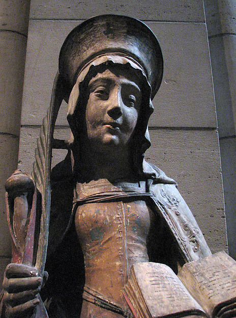Saint Savina of Troyes or Saint Syra