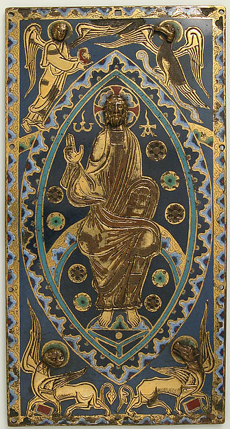 Plaque with Christ in Majesty
