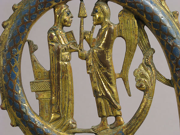 Head of a Crozier with the Annunciation