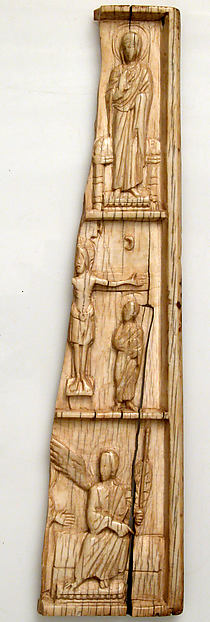 Wing of an Ivory Triptych with Scenes from the Life of Christ