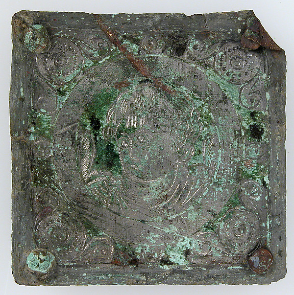 Tinned-Copper Plaque with a Personification