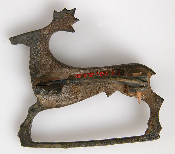 Brooch in the form of a Stag