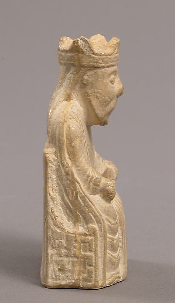 Chess Piece of a King (Copy of one of the Lewis Chessmen)