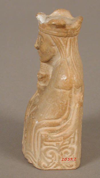 Chess Piece of a Queen (Copy of one of the Lewis Chessmen)