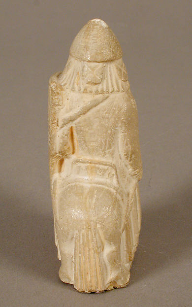 Chess Piece of a Knight (Copy of one of the Lewis Chessmen)
