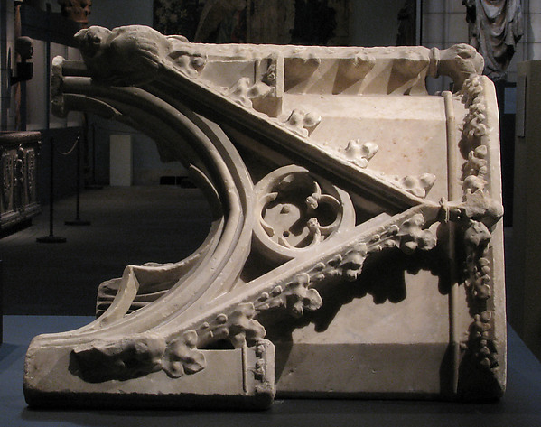 Canopy from the tomb of Philip III (the Bold) of France (1245-1285)
