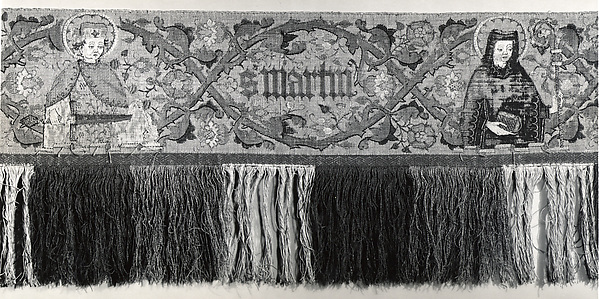 Praetexta of an Antependium
