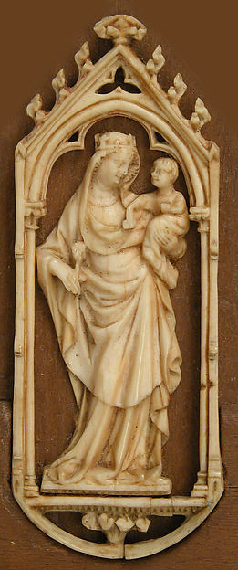 Plaque with Virgin and Child