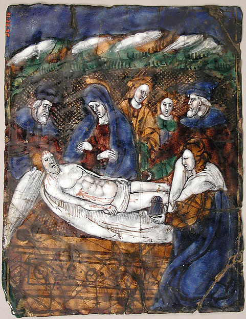 Plaque with the Entombment