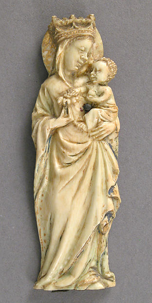 Plaque with the Virgin and Child