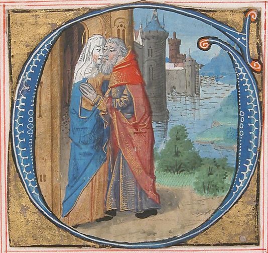 Initial G with Joachim and Anna