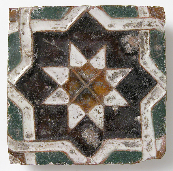Tile with Geometric Design