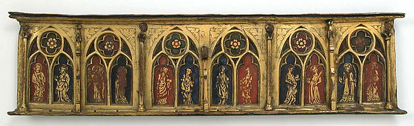 Plaque with Six Inset Panels