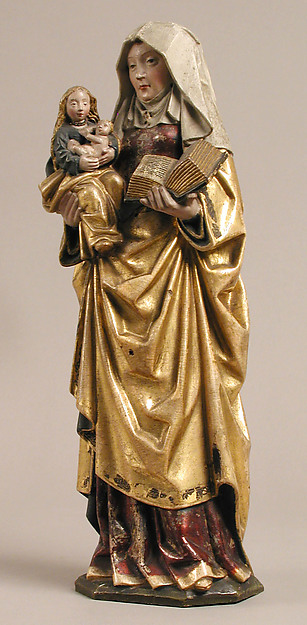 Saint Anne Holding the Virgin and Child