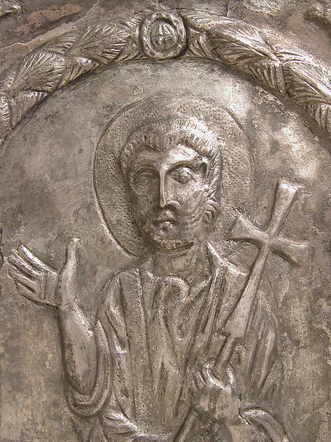 Plaque with Saint Peter