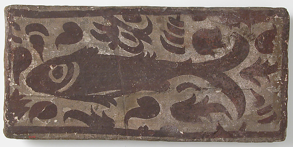 Ceiling Tile with Fish