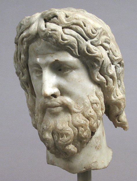 Head of Christ or Zeus