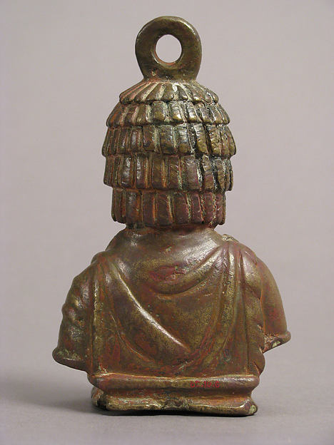 Steelyard Weight with the Bust of a Woman