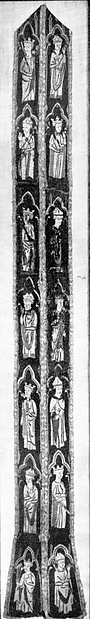 Stole with Figures of Kings and Bishops