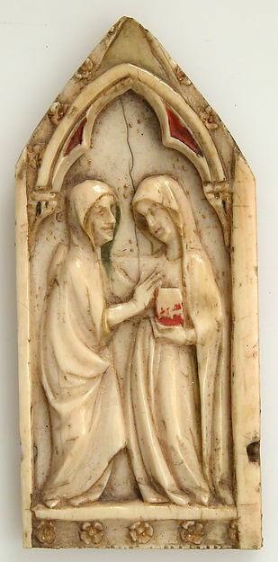 Plaque with the Visitation