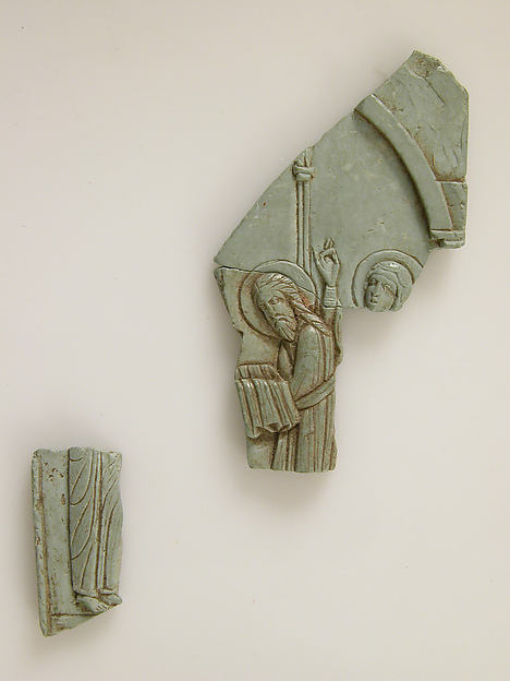 Fragments of an Icon of the Hypapante