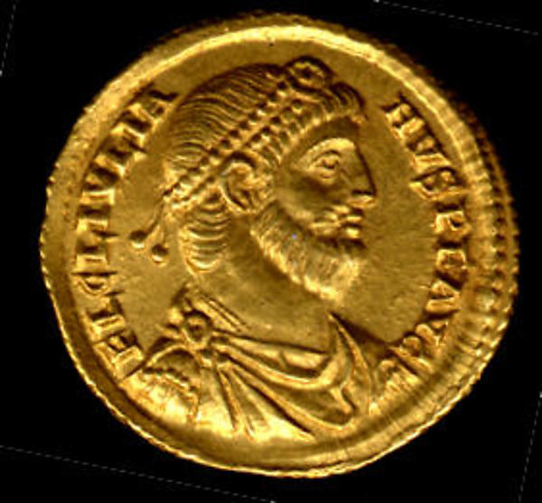 Gold Solidus of Julian (361–63)
