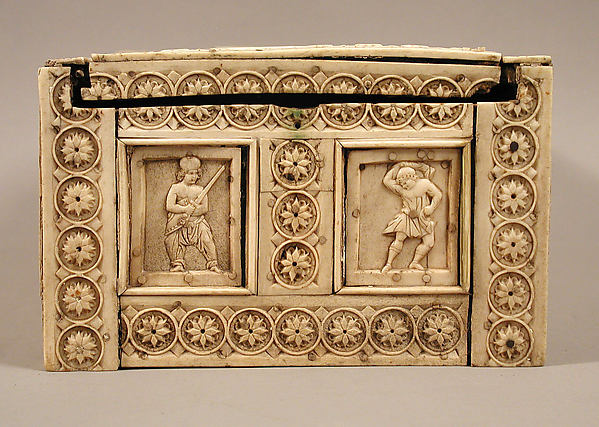 Casket with Warriors and Mythological Figures