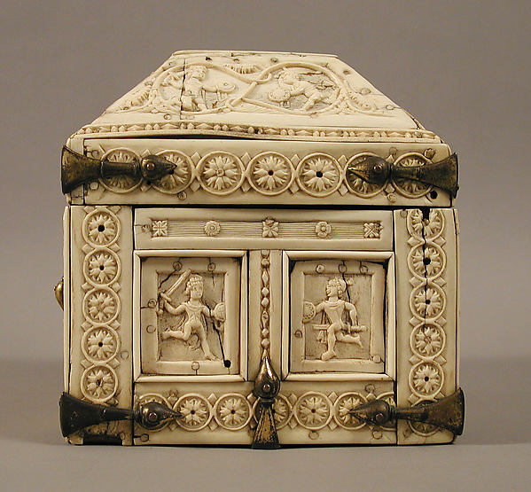 Casket with Warriors and Dancers