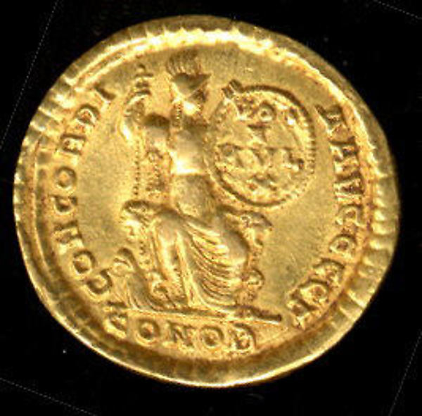 Gold Solidus of Theodosius I (379–95)