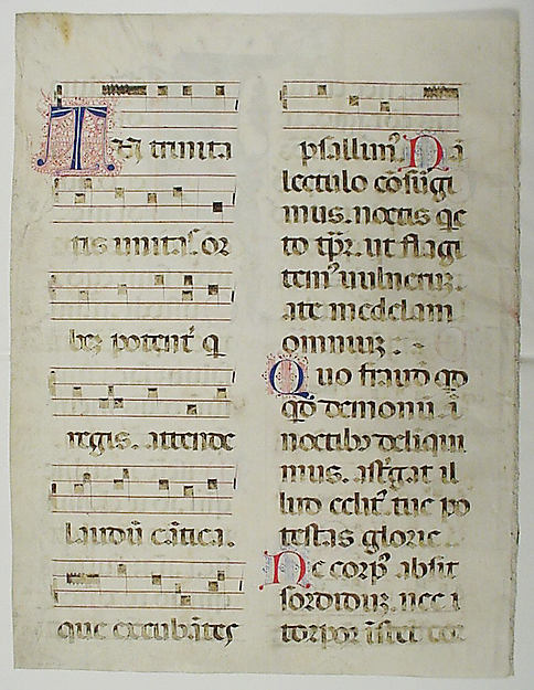 King David in an Initial I