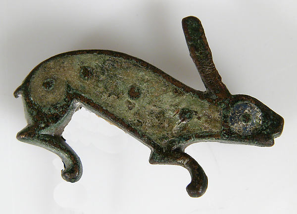 Brooch in the Form of a Rabbit