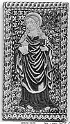 Saint Mary Magdalene or Saint Barbara with Book and Jar of Ointment