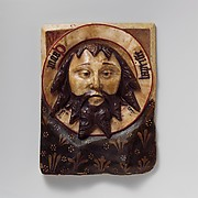 Plaque with the Head of Saint John the Baptist on a Charger