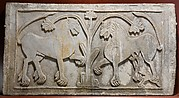 Relief Panel with Lion Family