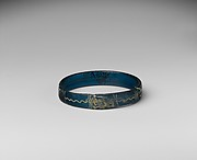 Bracelet with Birds and Geometric Patterns