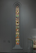 Tree of Jesse Window: The Reclining Jesse, King David, and Scenes from the Life of Jesus