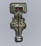 Miniature Square-Headed Brooch