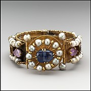 Jeweled Bracelet (one of pair)
