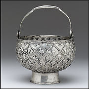 Silver Holy Water Bucket